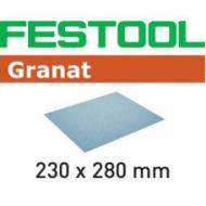Материал Granat в листах, 230 x 280 мм