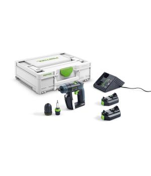 Аккумуляторная дрель-шуруповерт Festool CXS Li 2.6 Plus