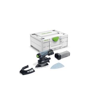 Аккумуляторная дельтавидная шлифовальная машинка Festool DTSC 400 Li-Basic
