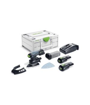 Аккумуляторная дельтавидная шлифовальная машинка Festool DTSC 400 Li 3,1 I-Plus