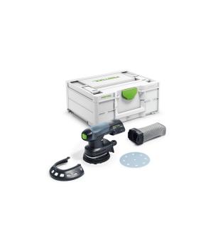 Аккумуляторная эксцентриковая шлифовальная машинка Festool ETSC 125 Li-Basic