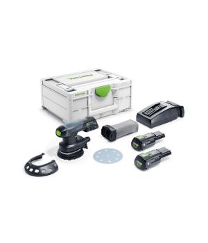 Аккумуляторная эксцентриковая шлифовальная машинка Festool ETSC 125 Li 3,1 I-Plus