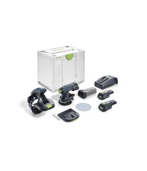 Аккумуляторная машинка для шлифовки кромок Festool ES-ETSC 125 3,1 I-Plus