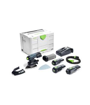 Аккумуляторная дельтавидная шлифовальная машинка Festool DTSC 400 Li 3,1 I-Set