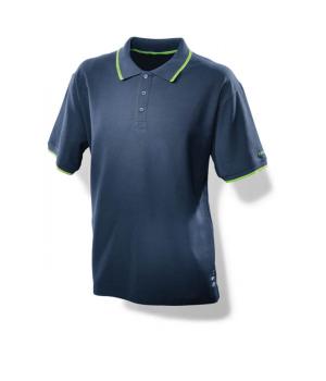 Мужская рубашка поло синяя Festool M