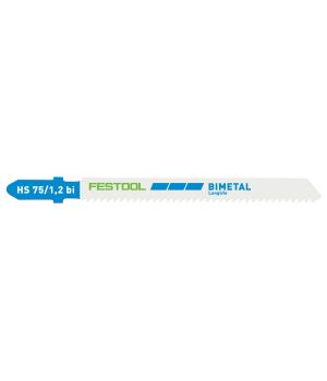 Пильное полотно Festool для лобзика HS 75/1,2 BI/5
