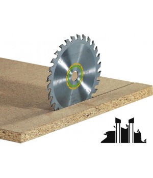 Пильный диск Festool HW 260х2,5х30 W 60 универсальный