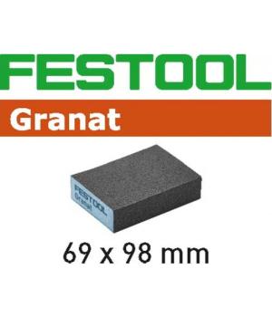 Губка шлифовальная Festool Granat 120, компл. из 6 шт. 69x98x26 120 GR/6